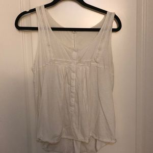 J.Crew off white blouse size M